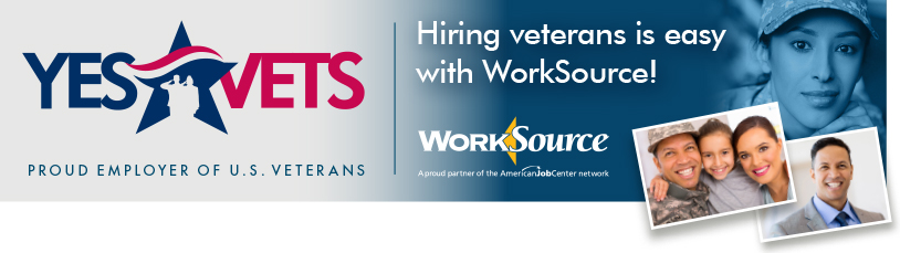 Hiring veterans is easy with WorkSource