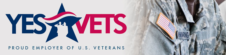 Header image with Yes Vets logo, and picture of a soldier in uniform.
