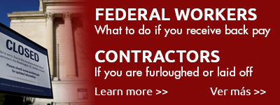 Assistance for federal workers