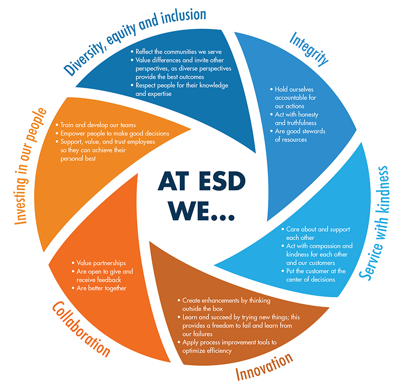 ESD Values Lens