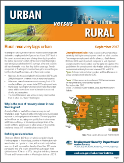 Urban versus Rural Brochure